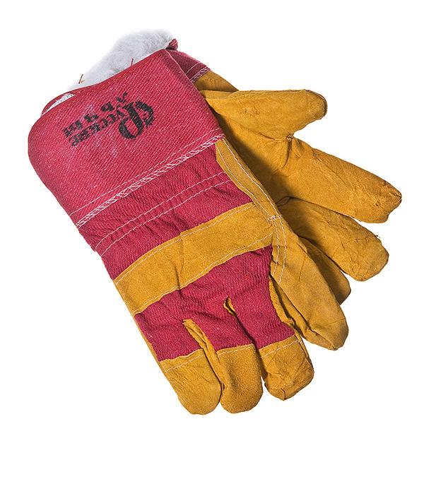 Перчатки утепленные спилковые краги перчатки утепленные newton per48 русские львы