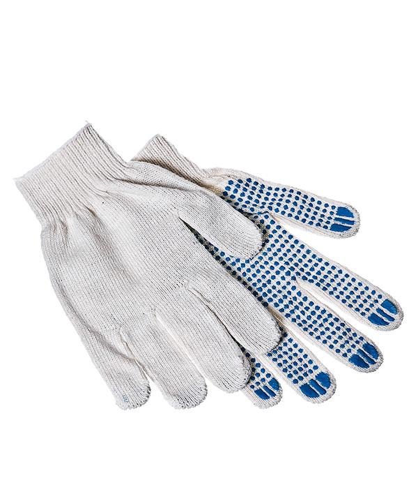 Перчатки 4 нити рабочие с ПВХ покрытием 40-42 г размер 9 (L) перчатки рабочие gardena размер 9 l 00214 20 000 00