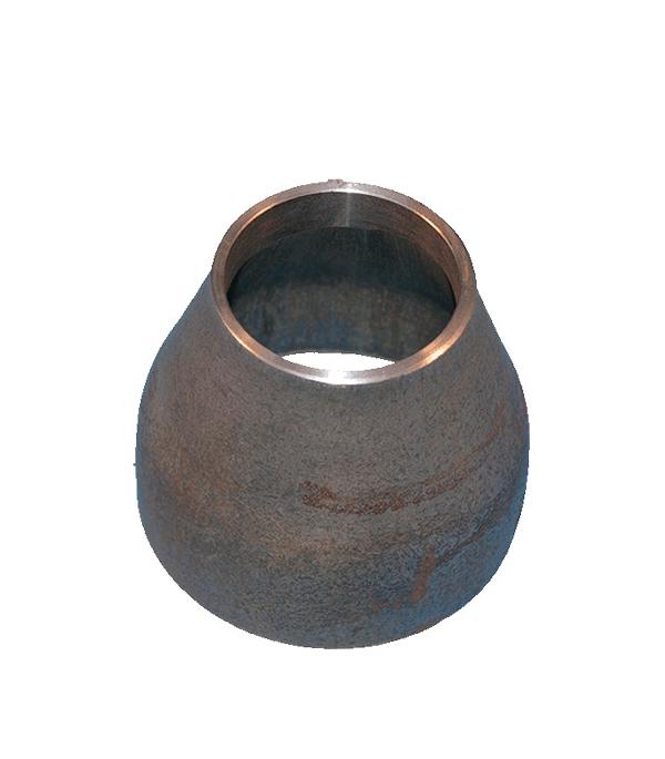 Переход под сварку Ду108х57 кованый стальной черный