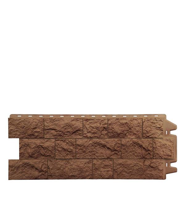 Фасадная панель Docke-R Fels ржаная 1050х425х3.0 мм