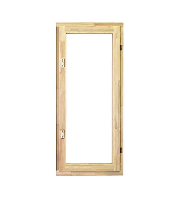 Окно деревянное РадДоз 1160х570 мм 1 створка (поворотная) анкерная пластина 150х25х1 2 мм 10 шт поворотная для профиля rehau