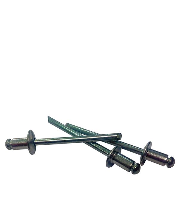 Купить Заклепки вытяжные 3.2х12 мм алюминий/сталь (100 шт), Алюминий/Сталь