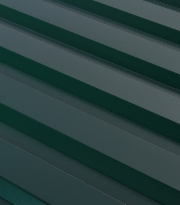 Купить Профнастил С20 1.15х2.00 м толщина 0.5 мм зеленый RAL 6005, Зеленый