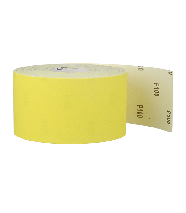 Наждачная бумага желтая P100 115 мм 50 м