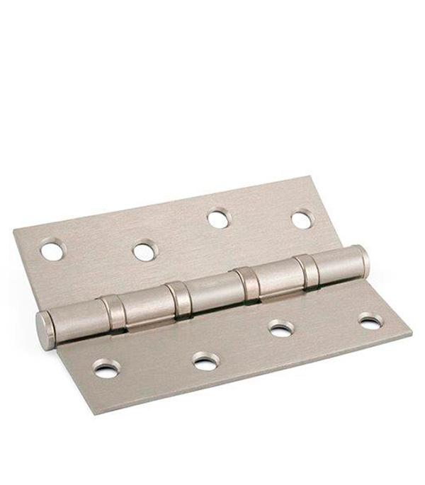 Купить Петля ФЗ Е-100 SN матовая никель, Серебро, Сталь