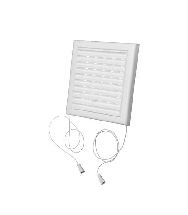 Вентиляционная решетка пластиковая Вентс 154х154 мм регулируемая