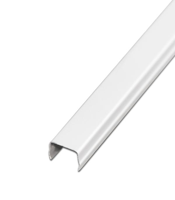 Купить Раскладка Албес ASN A916 3 м белая глянцевая, Белый глянцевый, Алюминий