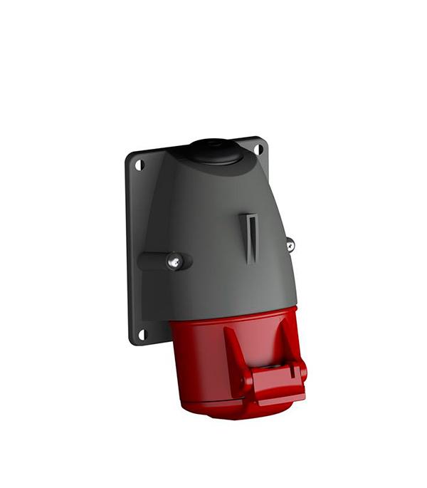 Розетка настенная ABB 400В 3P+N+E 32A IP44 розетка кабельная 16а 3p e 380в 214