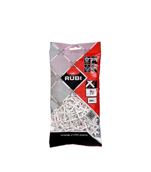 Крестики для плитки Rubi 3 мм (200 шт) крестики для плитки 4 мм 1000 шт rubi