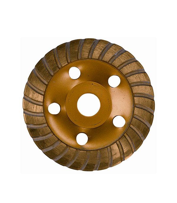 Чашка алмазная для бетона Turbo 125х22 мм диск зачистной cbs 125х22 2 мм fit 39611