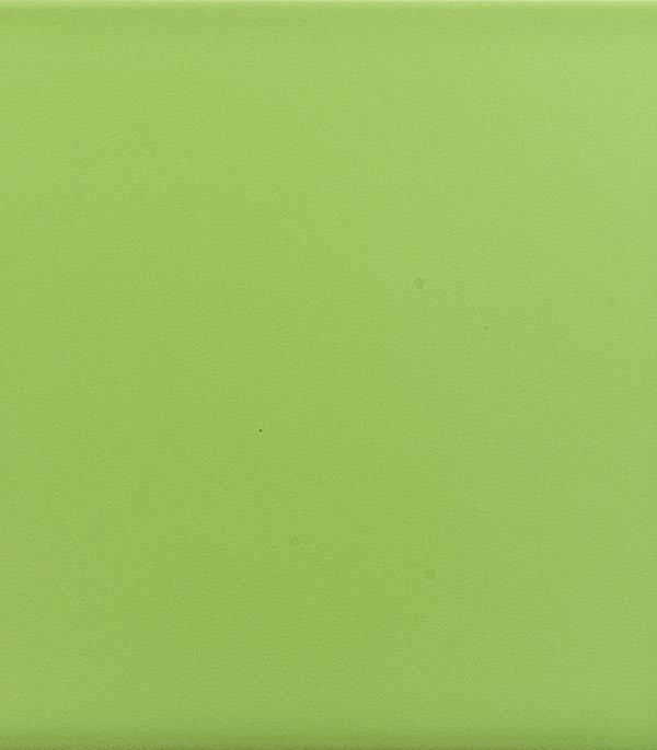 Плитка облицовочная ЕвроКерамика 200х200х7 мм моноколор салатовый (22 шт=0.88 кв.м)