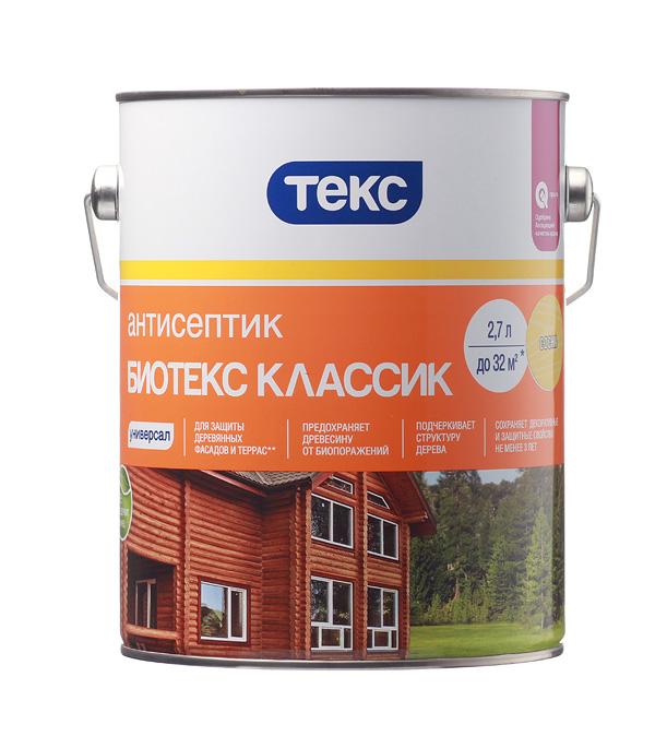 Антисептик Текс Биотекс Классик универсал сосна 2.7 л
