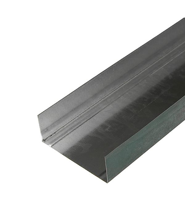 Купить Профиль направляющий Стандарт 100х40 мм 3 м 0.50 мм, Металл