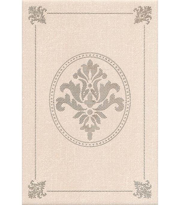 Плитка декор Традиция 200х300х6.9 мм бежевый декор kerama marazzi фраскати ar81 12026 25x75