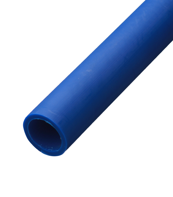 Труба ПНД (ПЭ-100) для систем водоснабжения премиум синяя 20мм (бухта 100м) труба пнд пэ 100 для систем водоснабжения 50 мм бухта 100 м