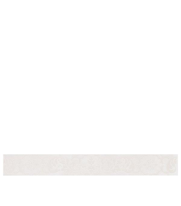 Плитка бордюр 505х62х9 мм Наварра Крема Барокко бордюр azori этель камилла 6 2х50 5
