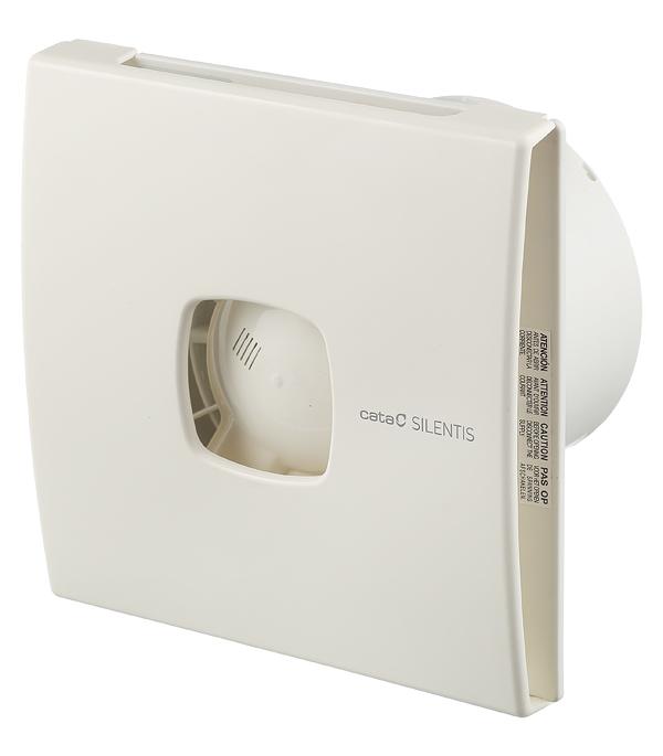 Вентилятор осевой d120 мм Cata Silentis 12 слоновая кость вентилятор cata x mart 12 inox d120 мм 20 вт