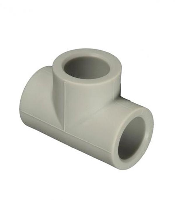 Купить Тройник полипропиленовый 40 мм FV-PLAST серый