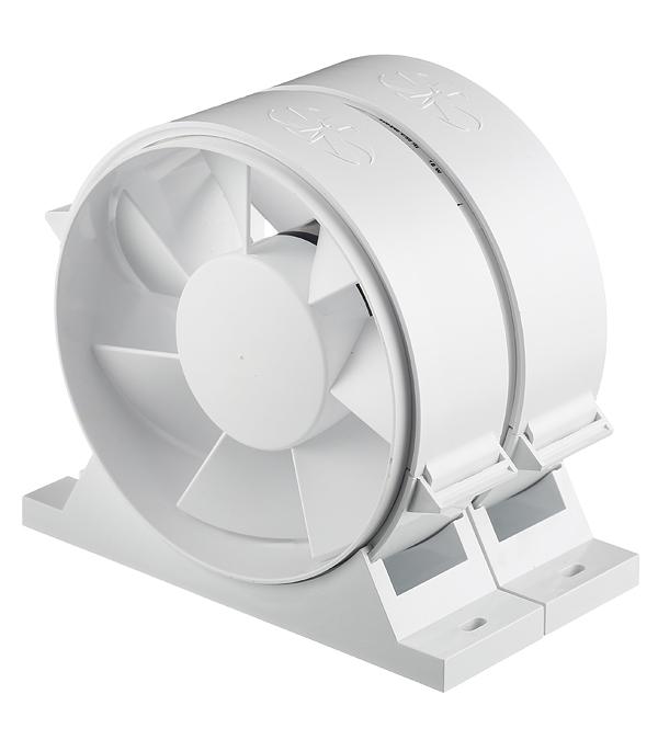 Вентилятор канальный осевой d125 мм Diciti Pro 5 белый вентилятор осевой d125 мм era pro 5
