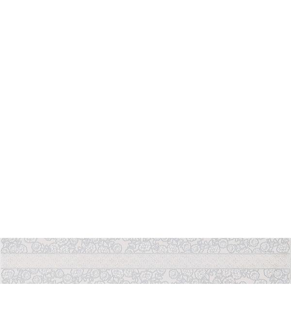 Плитка бордюр 505х80х9 мм Санмарко серый Палаццио бордюр azori триоль беж ноктюрн 6 2x40 5