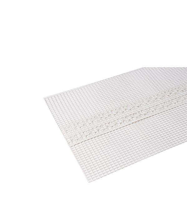 Профиль углозащитный мягкий пластиковый с сеткой 100х100 мм 25 м профиль углозащитный алюминиевый 20х20 мм 3 м