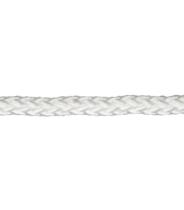 Плетеный шнур Белстройбат полипропиленовый белый d6 мм 15 м