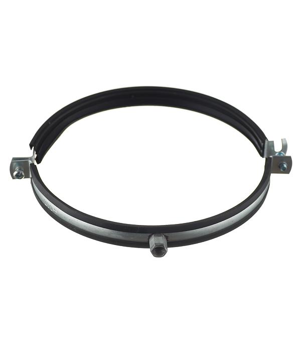 Хомут для монтажа круглых стальных воздуховодов d200 мм врезка оцинкованная для круглых стальных воздуховодов d200х200 мм