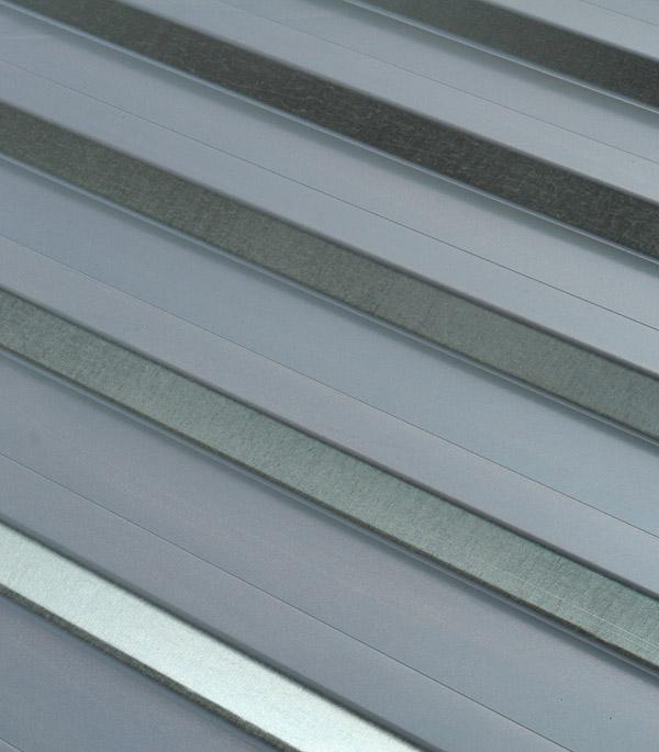 Купить Профнастил С20 1.15х2.00 м толщина 0.5 мм оцинкованный, Оцинкованный