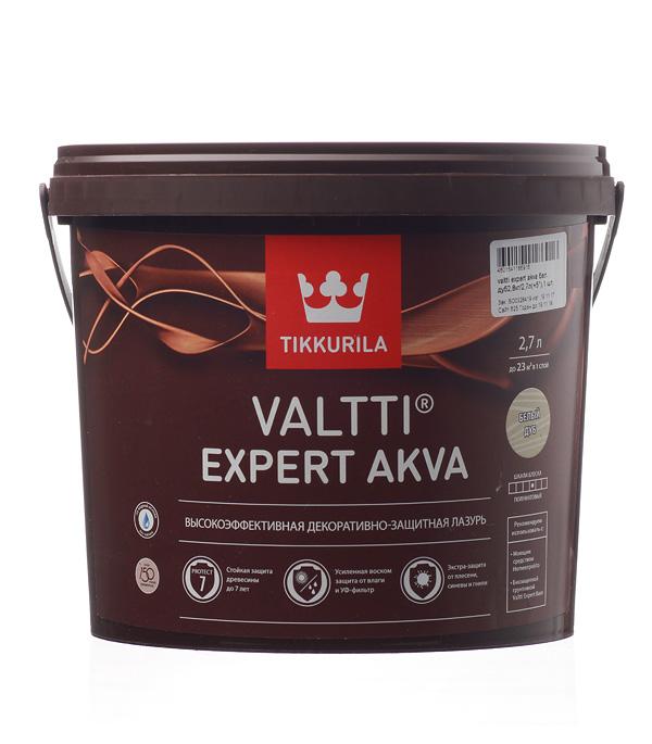 Антисептик Valtti Expert Akva бел. дуб Тиккурила 2,7 л пинотекс classic антисептик дуб 2 7 л
