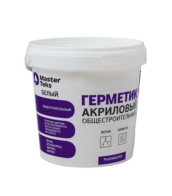Герметик акриловый MasterTeks ProfiMaster 900 мл белый