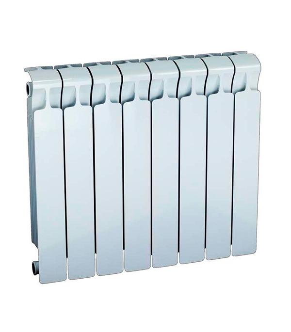 """Радиатор биметаллический 3/4"""" Rifar Monolit 500,  8 секций"""
