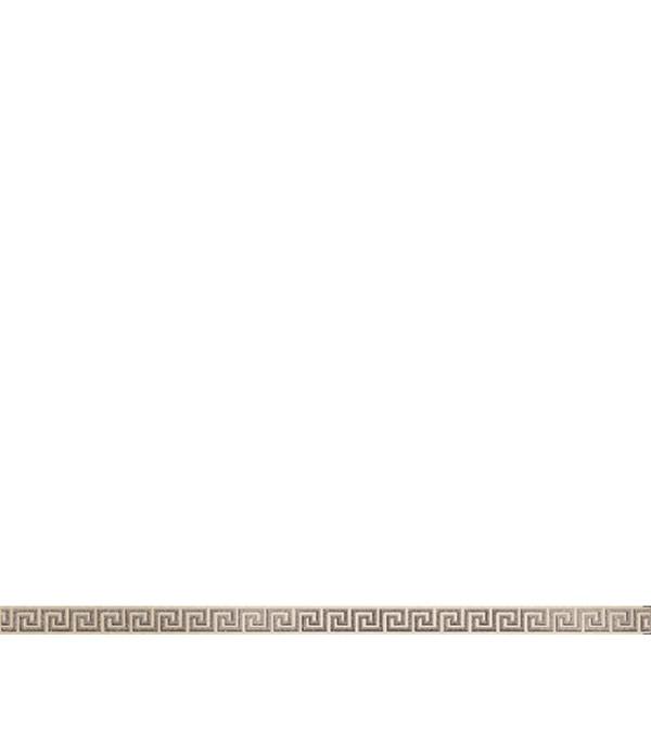 Керамогранит бордюр 25х600х10,5 мм Крит бежевый/Керамика Будущего бордюр дельта керамика orchid b300d135 4 5x30