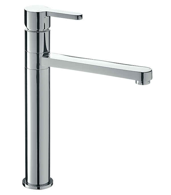 Смеситель для кухни ARGO STANDARD ETA 35-08L однорычажный высокий c длинным изливом смеситель для мойки 201 высокий однорычажный розовый polygran полигран