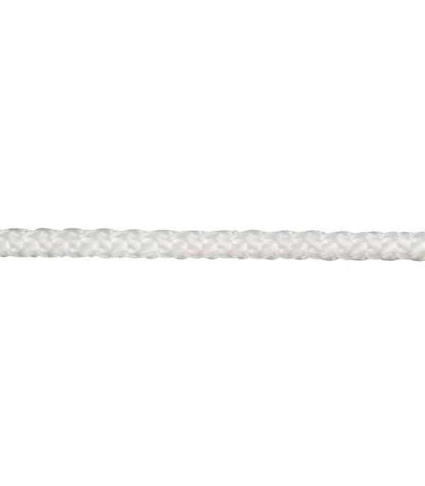 все цены на Плетеный шнур Белстройбат без сердечника полипропиленовый белый d4 мм онлайн
