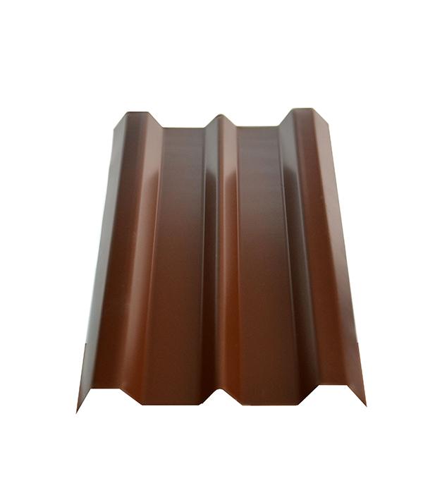 Евроштакетник толщина 0,4 мм 100х1500 мм коричневый евроштакетник двухсторонний п образный 0 45 мм 1800мм коричневый ral8017