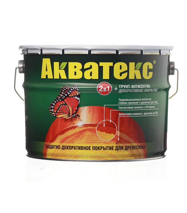 Антисептик Рогнеда Акватекс палисандр 10 л защитное покрытие для древесины акватекс белый рогнеда 10л