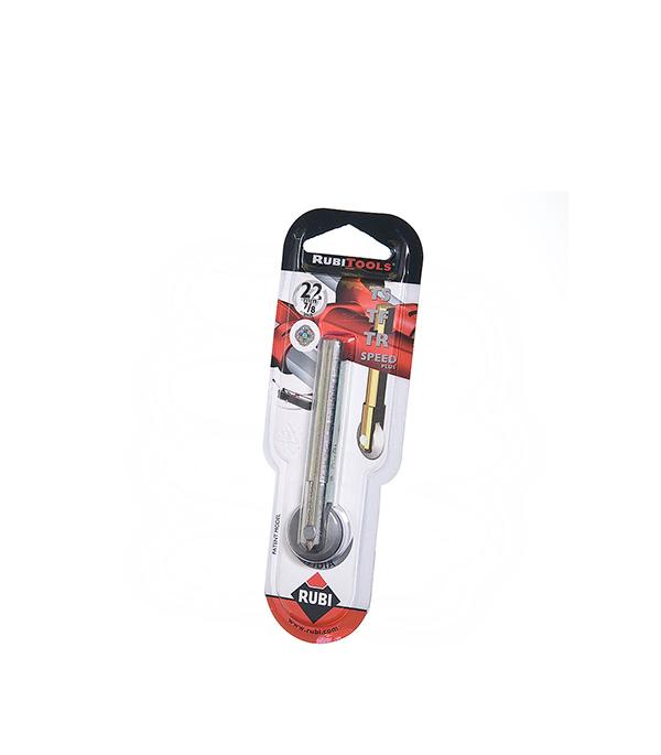 Резец победитовый Rubi d22 мм роликовый лента для уровня колокола rubi 100шт 02981