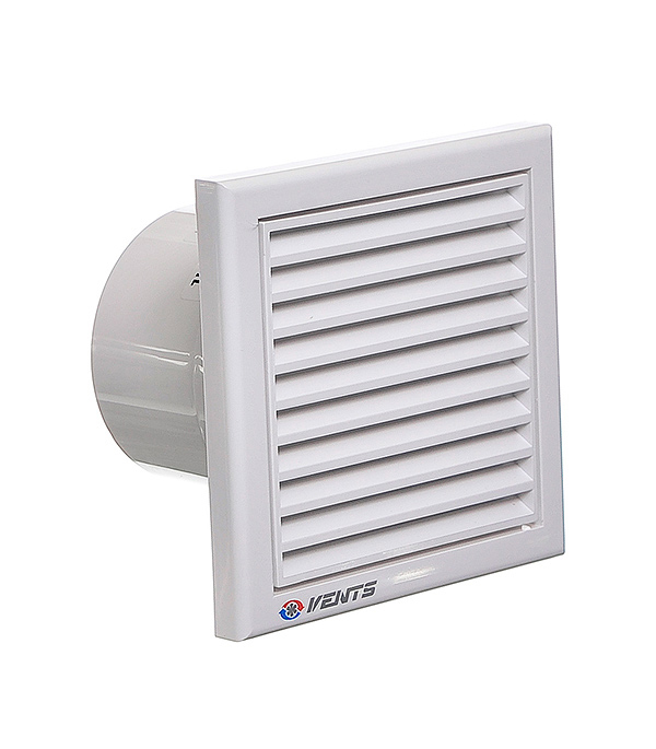 Вентилятор осевой Вентс 100K d100 мм вентилятор осевой вентс d100 мм 18 вт жалюзи