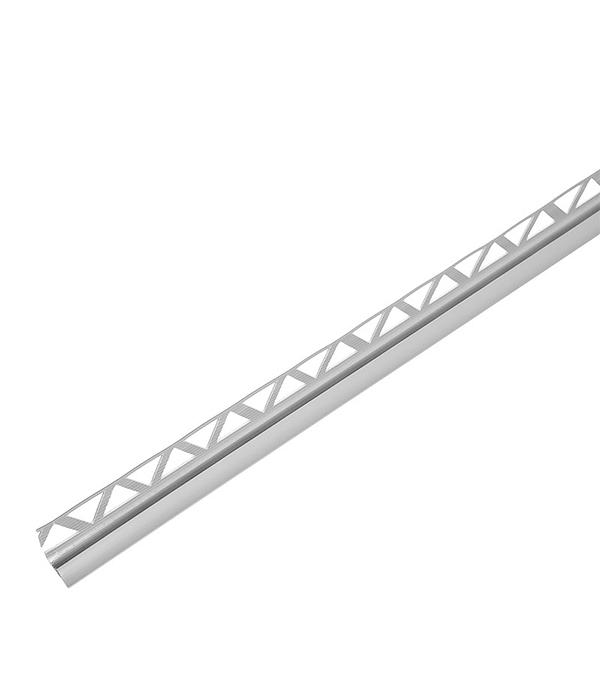 Купить Уголок для кафельной плитки внутренний 7 мм 2.5 м серый, Серый
