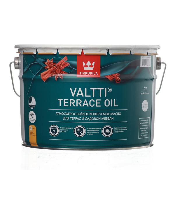 Купить Масло для террас Valtti Terrace Oil EC Тиккурила 9 л, Tikkurila, Бесцветный
