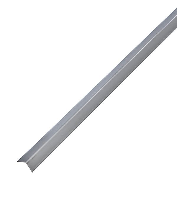 Купить Профиль угловой универсальный PL 19х24х3000 мм белый стальной, Белый стальной, Оцинкованная сталь