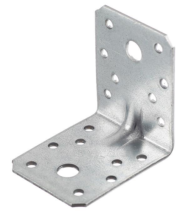 Уголок крепежный усиленный GAH ALBERTS 70x70x55х2,5 мм оцинкованный уголок крепежный оцинкованный 105х105х90х2 5