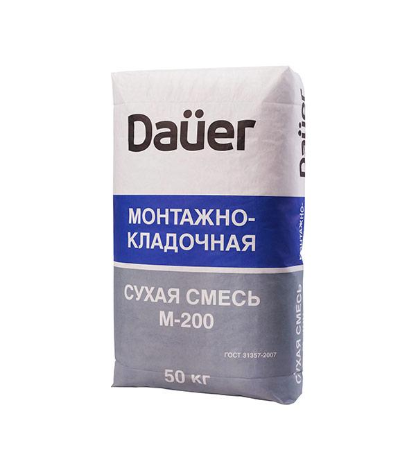 Цементно-песчаная смесь DAÜER M200 50 кг цпс 150 кремин смесь универсальная uc15 мастер гарц 50 кг