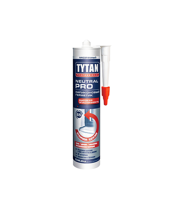 цена на Герметик силиконовый Tytan Neutral PRO нейтральный 310 мл белый