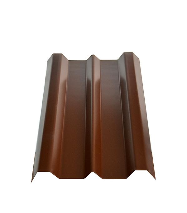 Евроштакетник толщина 0,4 мм 100х2000 мм коричневый евроштакетник двухсторонний п образный 0 45 мм 1800мм коричневый ral8017