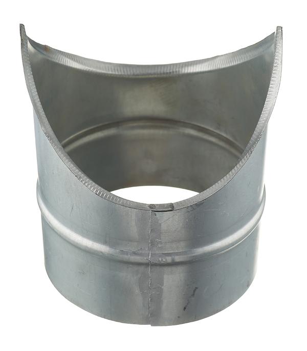 Врезка оцинкованная для круглых стальных воздуховодов d125х125 мм врезка оцинкованная для круглых стальных воздуховодов d200х200 мм