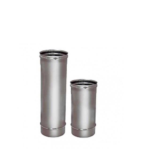 Труба Вулкан 500 мм 120 без изоляции на расширителе зеркальная 304