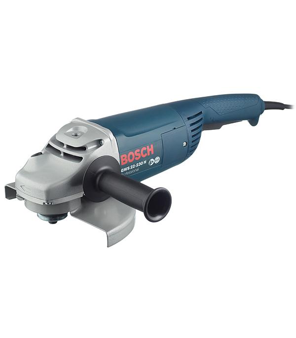 Шлифмашина угловая (УШМ) Bosch GWS 22-230 H 2200 Вт 230 мм