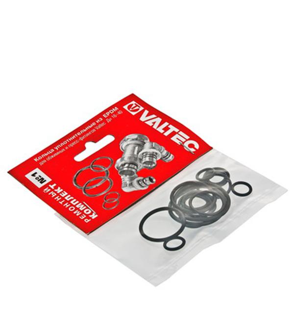 Купить Набор сантехнических прокладок EPDM Valtec № 1 резина, Резина