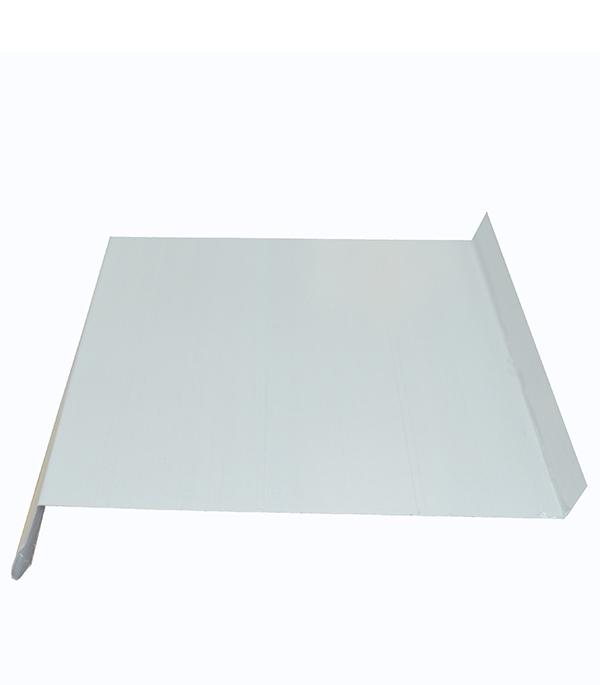 Отлив 100х2000 мм белый RAL9003 отлив белый 100х2000 мм ral9003